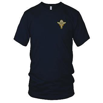 ARVN Airborne Parachute vleugels - militaire insignes Vietnamoorlog geborduurde Patch - Mens T Shirt