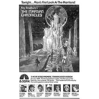 La locandina del film Cronache marziane (11 x 17)