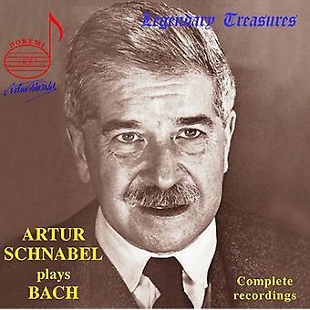 Arthur Schnabel - importação EUA Arthur Schnabel toca Bach [CD]