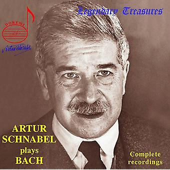 Arthur Schnabel - Arthur Schnabel Plays Bach [CD] USA import