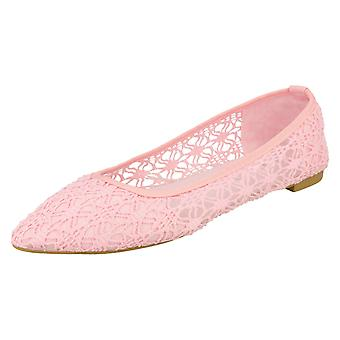 Damen-Spot auf flachen Ballerina Schuhe