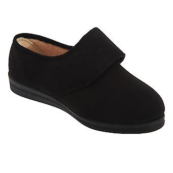 Comfylux Womens/Ladies Stella Superwide Slippers