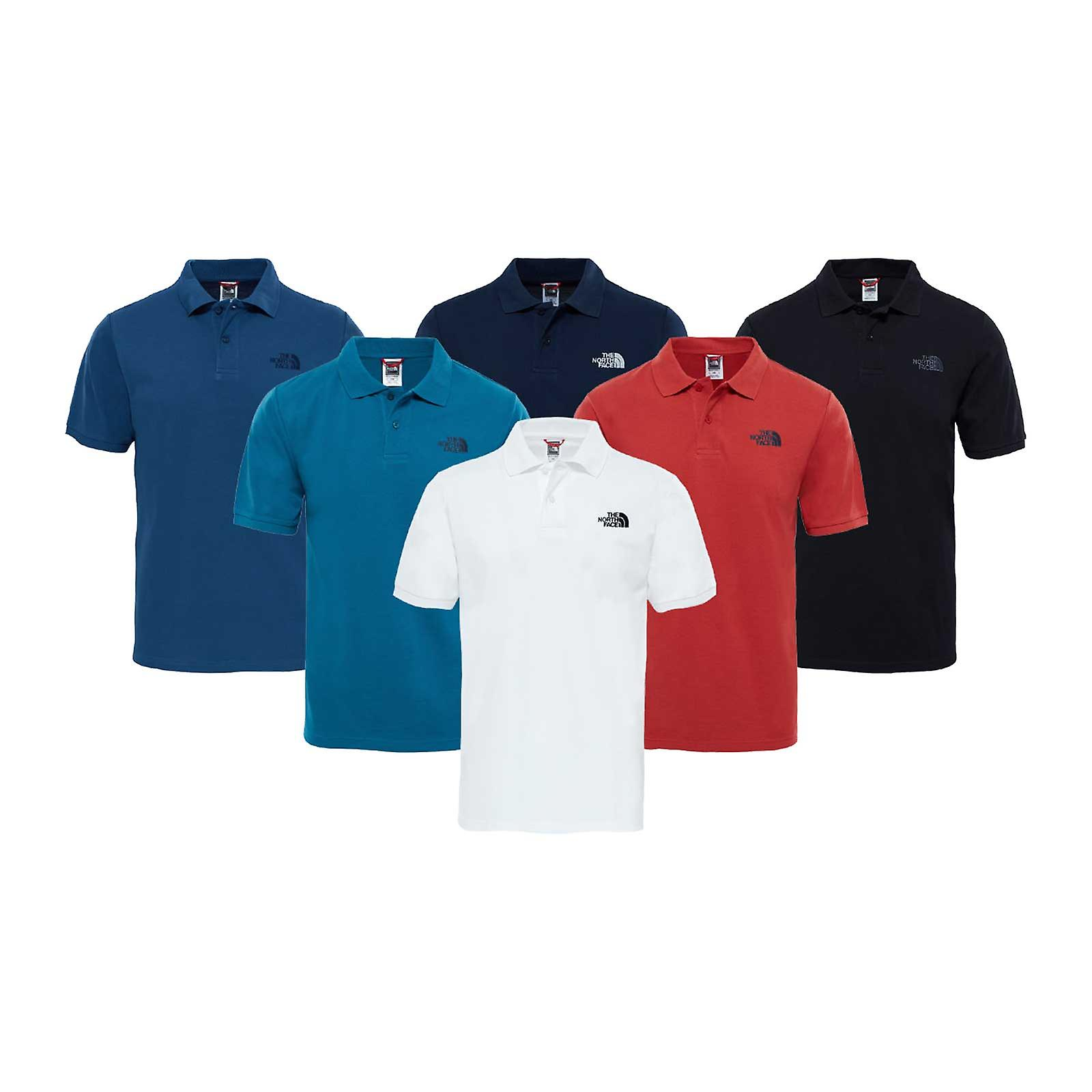 8643f2e61 The North Face Mens Polo Piquet T-Shirt