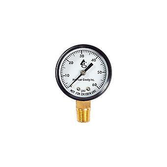 American Granby EIPPG602-4L 60LB Side Mount Pressure Gauge