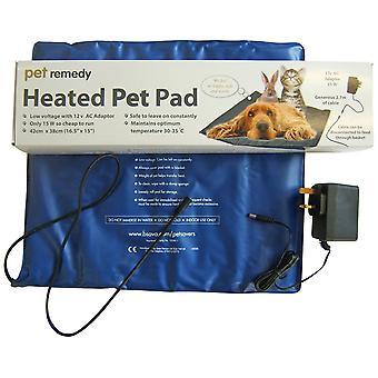 Pet middel lav spænding opvarmet Pad til hund og kat (42x38cm) 15w
