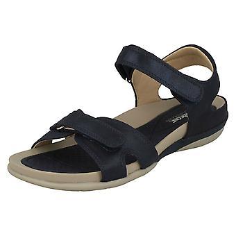 Dames Rouen Strappy Sport sandalen V9462-14 - Blauwe synthetische - UK maat 4 - EU grootte 37 - US maat 6