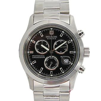 Swiss military Hanowa mens watch 06-5115.04.007 si/sw stainless steel