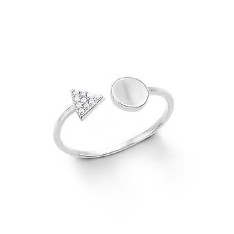 s.Oliver дамы жемчужина Кольцо серебро циркония 201254