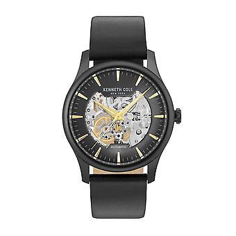 Kenneth Cole New Yorkin miesten kello automaattinen nahka KC15110002