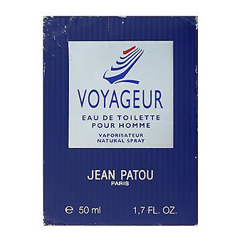 Jean Patou Voyageur Eau De Toilette Pour Homme Spray 1.7Oz/50ml In Box