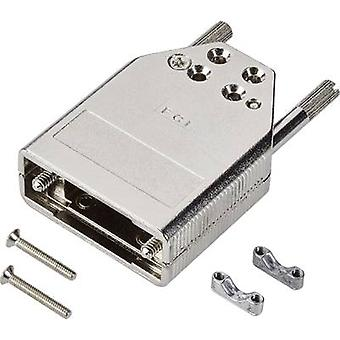 FCI D-SUB 8655MH0912LF D-SUB housing Number of pins: 9 Diecast zinc 180 ° Silver 1 pc(s)
