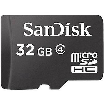 SanDisk SDSDQM-032G-B35 microSDHC-kort 32 GB klass 4