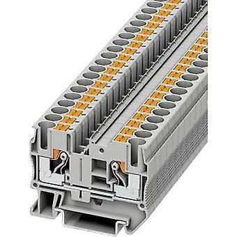 Phoenix kontakt PT 6 3211813 kontinuitet antall pinner: 2 0,5 mm² 6 mm² grå 1 eller flere PCer