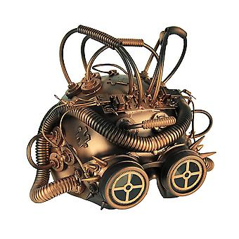 Steampunk Cepholopod Cosplay Half Costume Mask With Goggles