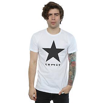 Estrela logotipo t-shirt David Bowie masculino