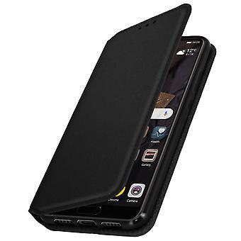Dunne Case, Classic Edition staan geval met kaartslot voor Huawei P20 - zwart