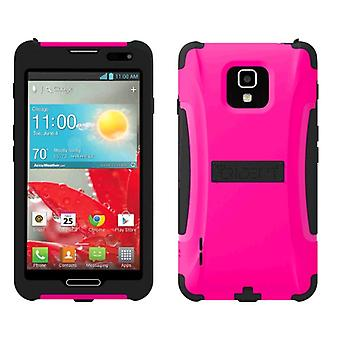 5 Pack -Trident - Aegis Case for LG Optimus F7 US780 Cell Phones - Pink/Black