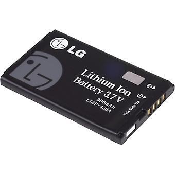 OEM LG AX585 ritme, CB630 Invision, CE110, UX585 standaardbatterij SBPL0093301