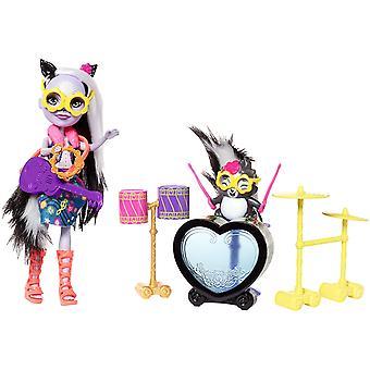 Playset de tambor oscilante Skunk Enchantimals