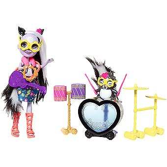 Enchantimals Skunk balançando tambor Playset
