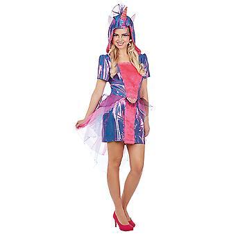 Unicorn damer kostume kjole mytiske væsen Carnival Unicorn pet kostume