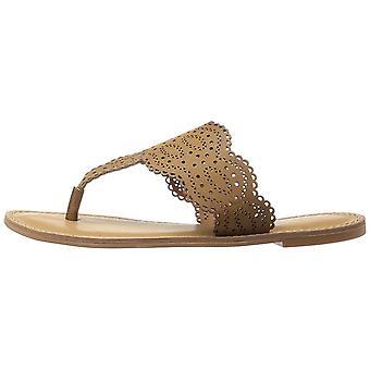 Xoxo Womens Roxana Split Toe Casual Slide Sandals