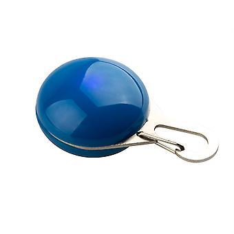 DIGIFLEX Hi-Vis Flashing Safety Light for Pet Collars in Blue