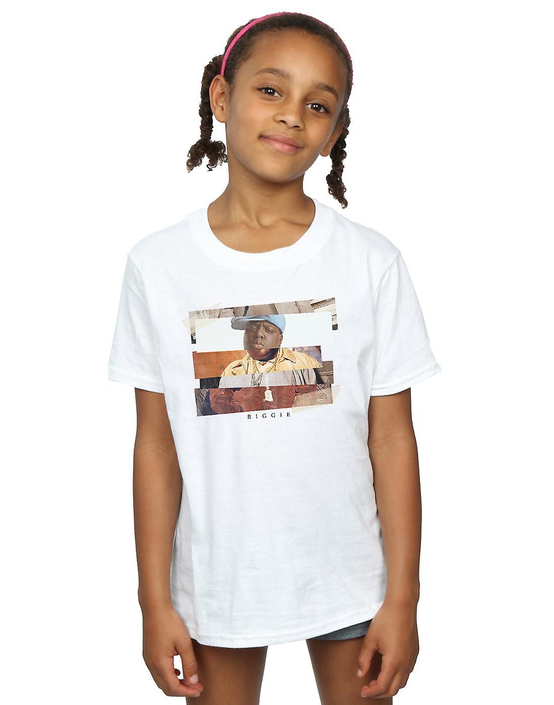 Notorious BIG Girls Sliced Photo T-Shirt