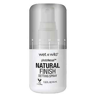 Wet n Wild Foto Focus Impostazione Spray-Natural Finitura