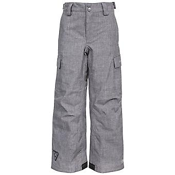 Trespass Childrens/Kids Joust Weatherproof Padded Touch Fastening Trousers