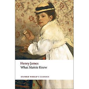 Was wusste Maisie (Klassiker der Oxford Welt)