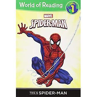 Detta är Spider-Man nivå 1 läsare