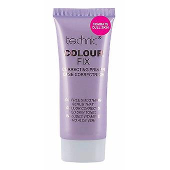 Technic Colour Fix Correcting Primer 35ml- Purple, Anti Dull