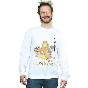 Disney mäns Lejonkungen gruppen Sweatshirt