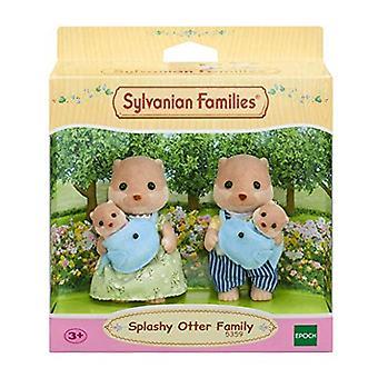 Sylvanian Families Splashy Otter familie verschillende