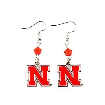 Nebraska Cornhuskers NCAA Sophie Style boucle d'oreille
