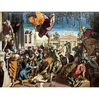 הנס של מארק הקדוש שחרור, יאקופו טינטורטו, 50x38 ס מ