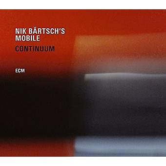 Nik Bartsch's Mobile - Continuum [CD] USA import