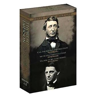 Thoreau and Emerson Boxed Set - Classic Works - 9780486807416 Book