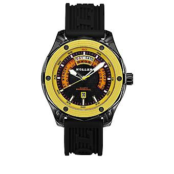 Holler Superfly Black & Yellow Watch HLW2351-2