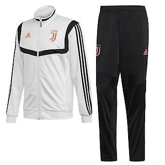 2019-2020 Juventus Adidas Presentation Tracksuit (White)