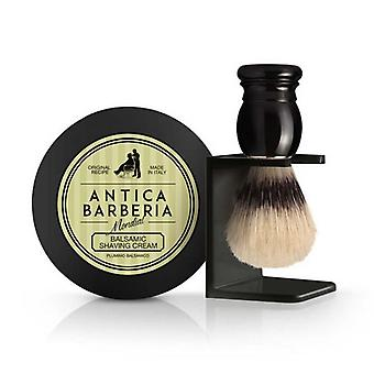 Antica Barberia Mens Shaving Gift Set 3Pcs Balsamic