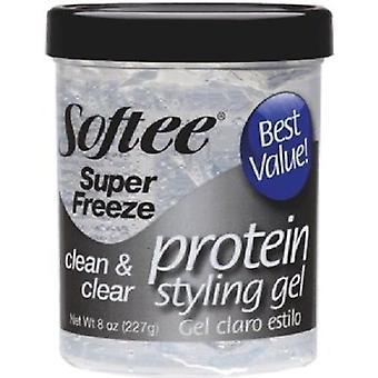 Softee Clean & Clear Super Freeze Styling Gel