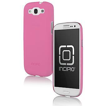 Incipio Feather Case for Samsung Galaxy S3 - Neon Pink