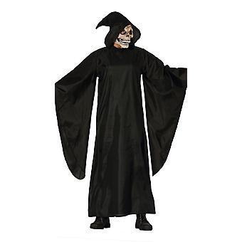 Mens Halloween Death maskeraddräkter kostym (Large)