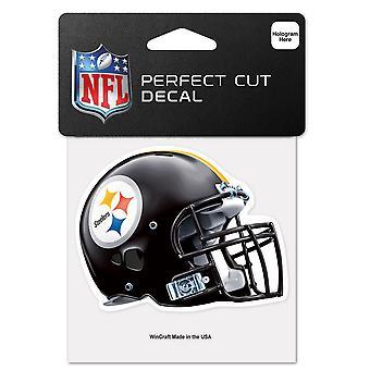 Wincraft Helm Aufkleber 10x10cm - NFL Pittsburgh Steelers