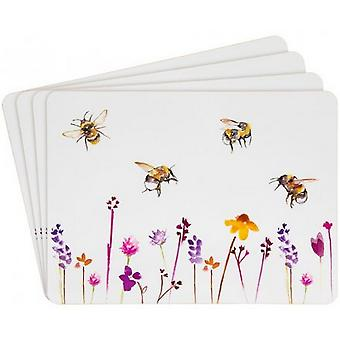 Busy Bees Placemats (Set of 4)