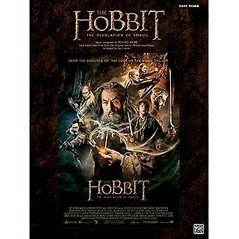 The Hobbit--de Desolation van Smaug: gemakkelijke piano selecties van de originele film soundtrack