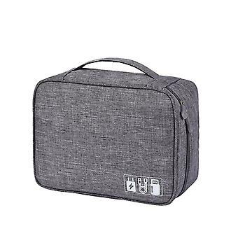 Elektronisk taske, grå