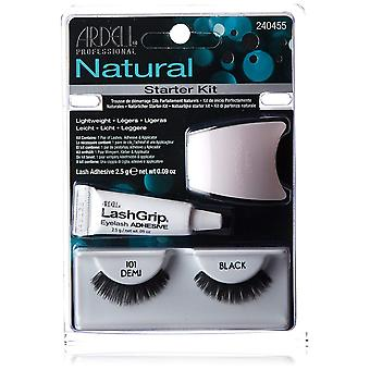 Ardell Fashion 101 Demi Lash Starter Kit Natural Look Strip Eyelashes With Glue
